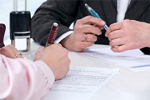 Доверенность от руки на подачу документов