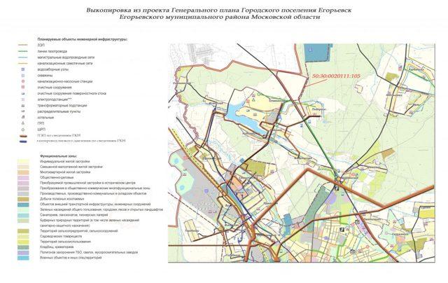Выкопировка из земельного участка в 2020 году