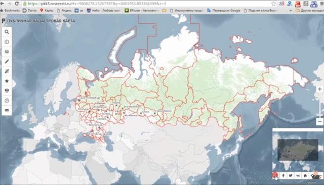 Как найти участок на кадастровой карте - правила поиска